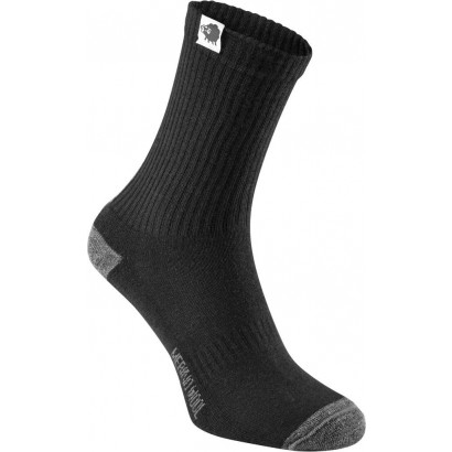 Madison Isoler Merino Winter Sock Black X Large