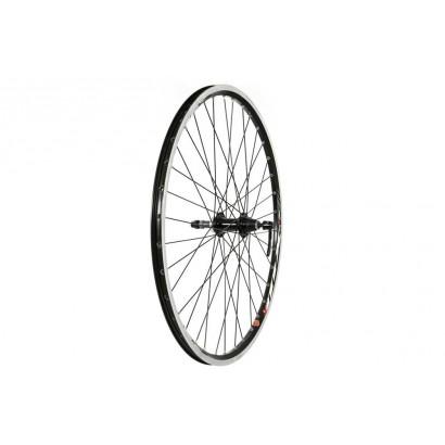 26 X 1.75 Rear Wheel, Mach1, Black (QR) Screw On