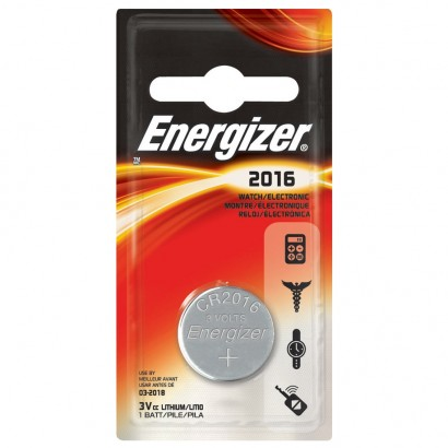 Energizer ECR2016 battery