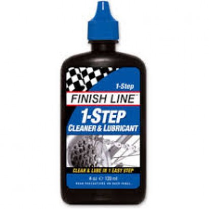 Finish Line 1-Step Cleaner and Lubricant 120ml Bottle