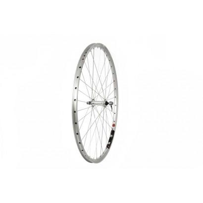 700C Front Trekking Wheel, Alloy Hub, Mach1 240 Rim, 36H, Silver (QR)