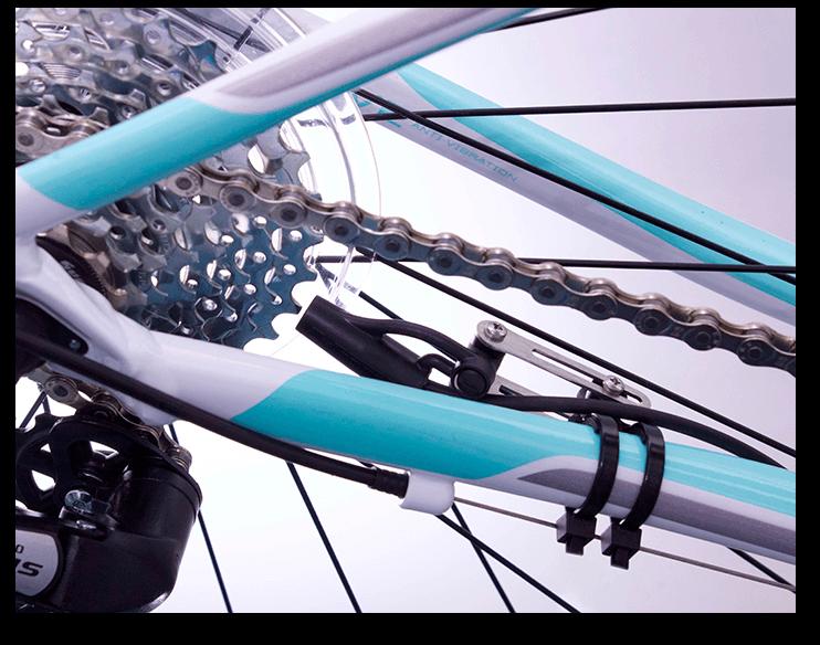 Cytronex C1 Sensor Fitted To Bike