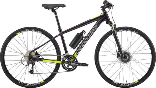 Cannondale Althea 2 urban hybrid bicycle fitted with Cytronex C1 electric bicycle conversion kit