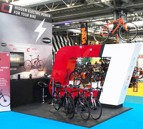 Cytronex C1 stand at the UK Cycle Show